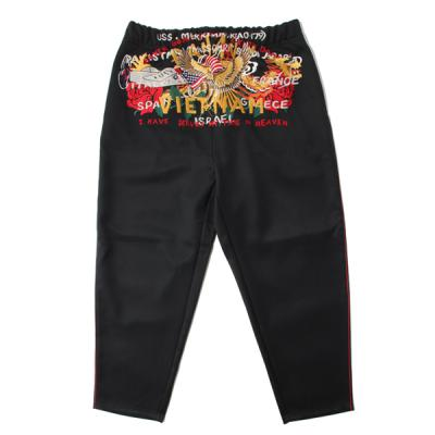 [doublet] CHAOS EMBROIDERY TRACK PANTS