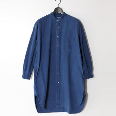 [marka] LONG SHIRTS MIDDLE INDIGO