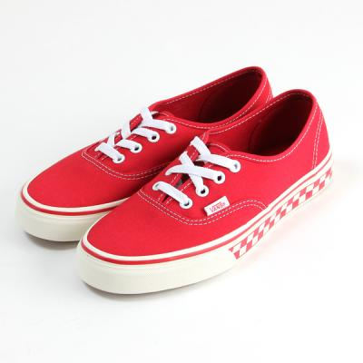 [VANS] Authentic (CHECKERBOARD) RACING RED