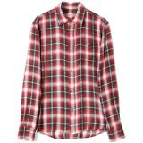 [Ron Herman] RAYON DOBBY PLAINTED SHIRT RED