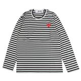 [PLAY COMME des GARCONS] ボーダー L/S Tシャツ
