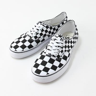 [VANS] Authentic (Mix Checker)Black/True White