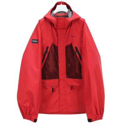 [DESCENDANT] AVALANCHE 3 LAYER JACKET RED