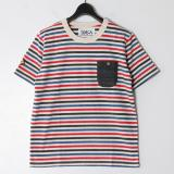 [SOLCA] BORDER TEE RED