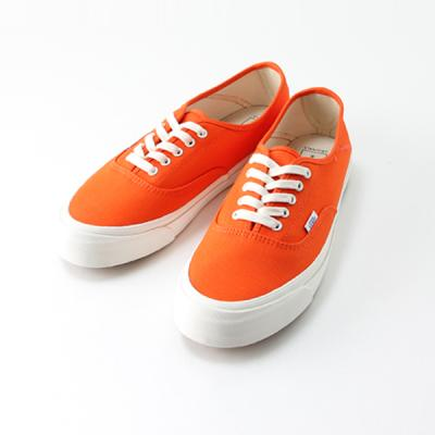 [VANS] OG Style 43 LX  (CANVAS) RED ORANGE/MARSH