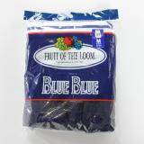 [BLUE BLUE]FRUIT OF THE ROOM TANK TOP WHITE x NAVY