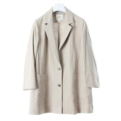 [BED&BREAKFAST] NATURAL LINEN JACKET