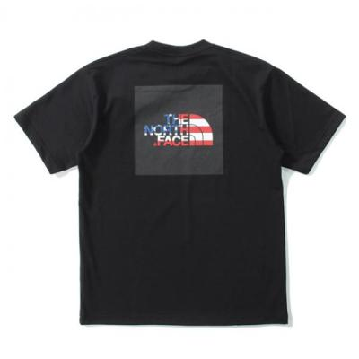 [THE NORTH FACE] S/S NATIONAL FLAG SQUARE LOGO TEE
