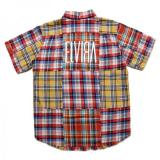 [ELVIRA] PATCHWORK SS SHIRT -MULTI 1-