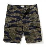 [The REAL McCOY'S] TIGER CAMOUFLAGE SHORTS/TADPOLE