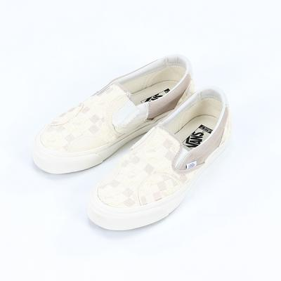 [VANS] Classic Slip-On B (EMBROIDERED CHECKER) CLA