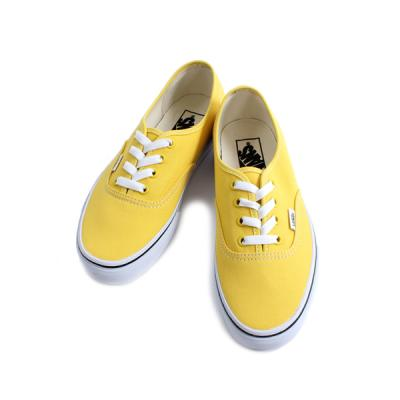 [VANS] Authentic  Vibrant Yellow/True White