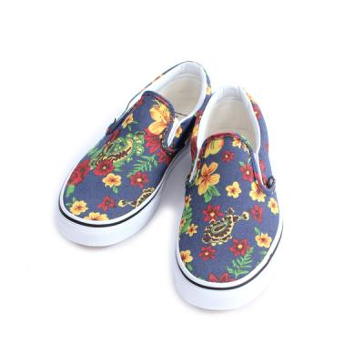 [VANS] Classic Slip-On (Aloha)Dress Blues