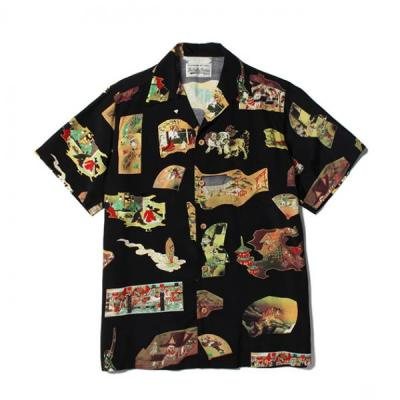 "[WACKO MARIA] ""JAPAN"" S/S HAWAIIAN SHIRT"