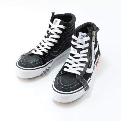 [VANS] SK8-Hi Cap LX Black/True White