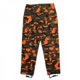 [ELVIRA] SAFETY CAMO B.D.U. PANTS -ORANGE-