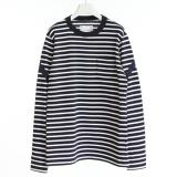 [sacai] 18-01785M NAVY×WHITE