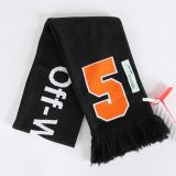 [OFF-WHITE] DIAG BIG OFF SCARF