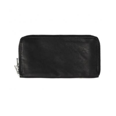 [GUIDI] C6 ZIPPED WALLET(KANGAROO) BLACK