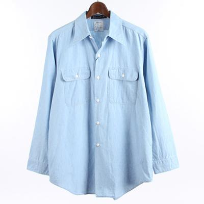 [MADISONBLUE] HAMPTON CHAMBRAY SHIRT (VW)