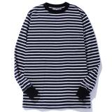 [CHALLENGER] L/S BORDER THERMAL TEE
