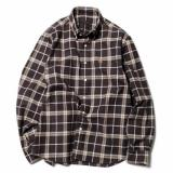 [SOPHNET.] FLANNEL CHECK BIG B.D SHIRT