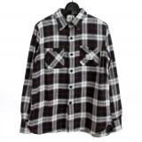 [OLD CROW] OLD CHECK - L/S SHIRTS
