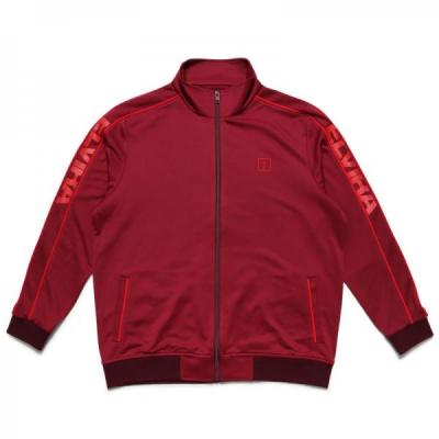 [ELVIRA] BREAK JERSEY JACKET -MAROON-