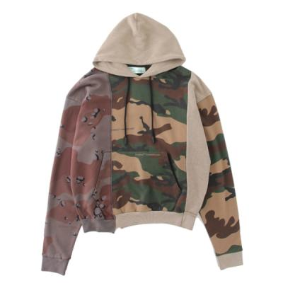 [OFF-WHITE] RECONSTRUCTURED CAMO HOODIE