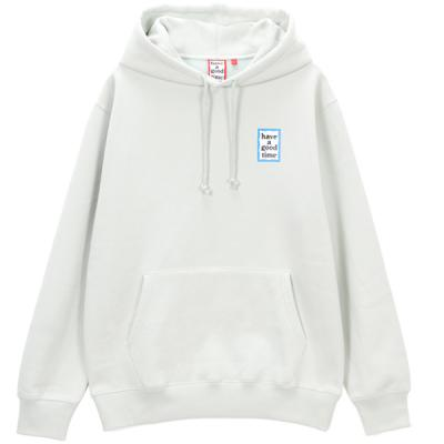 [have a good time] BLUE MINI FRAME PULLOVER HOODIE
