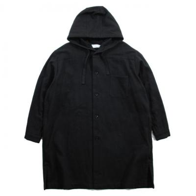 [marka] BUTCHER SHIRTS COAT BLACK