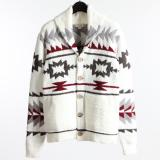 [BAREFOOT DREAMS] CC ADULT NATIVE SHAWL CARDIGAN