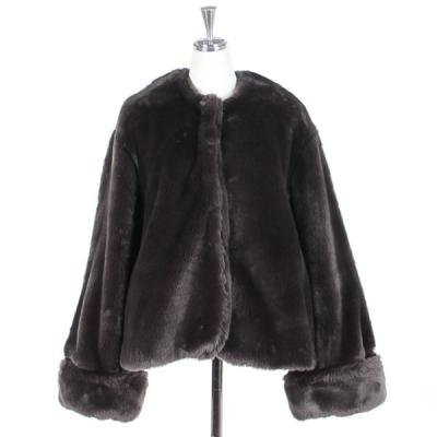 [Bilitis dix-sept ans] Fake Fur Short Coat