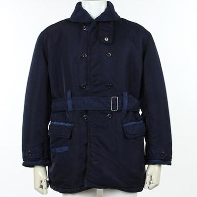 [Porter Classic] S/N SHAWL COLLAR COAT BLUE