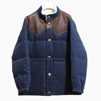 [Ron Herman] CONCHO DOWN JACKET NAVY